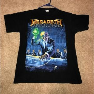 Megadeth 20th Anniversary Rust in Peace Tour Shirt